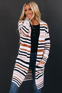 Savannah Striped Chenille Cardigan