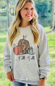 It's Fall Y'all Cozy Sweatshirt