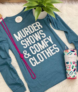 Murder Shows Long Sleeve Tee