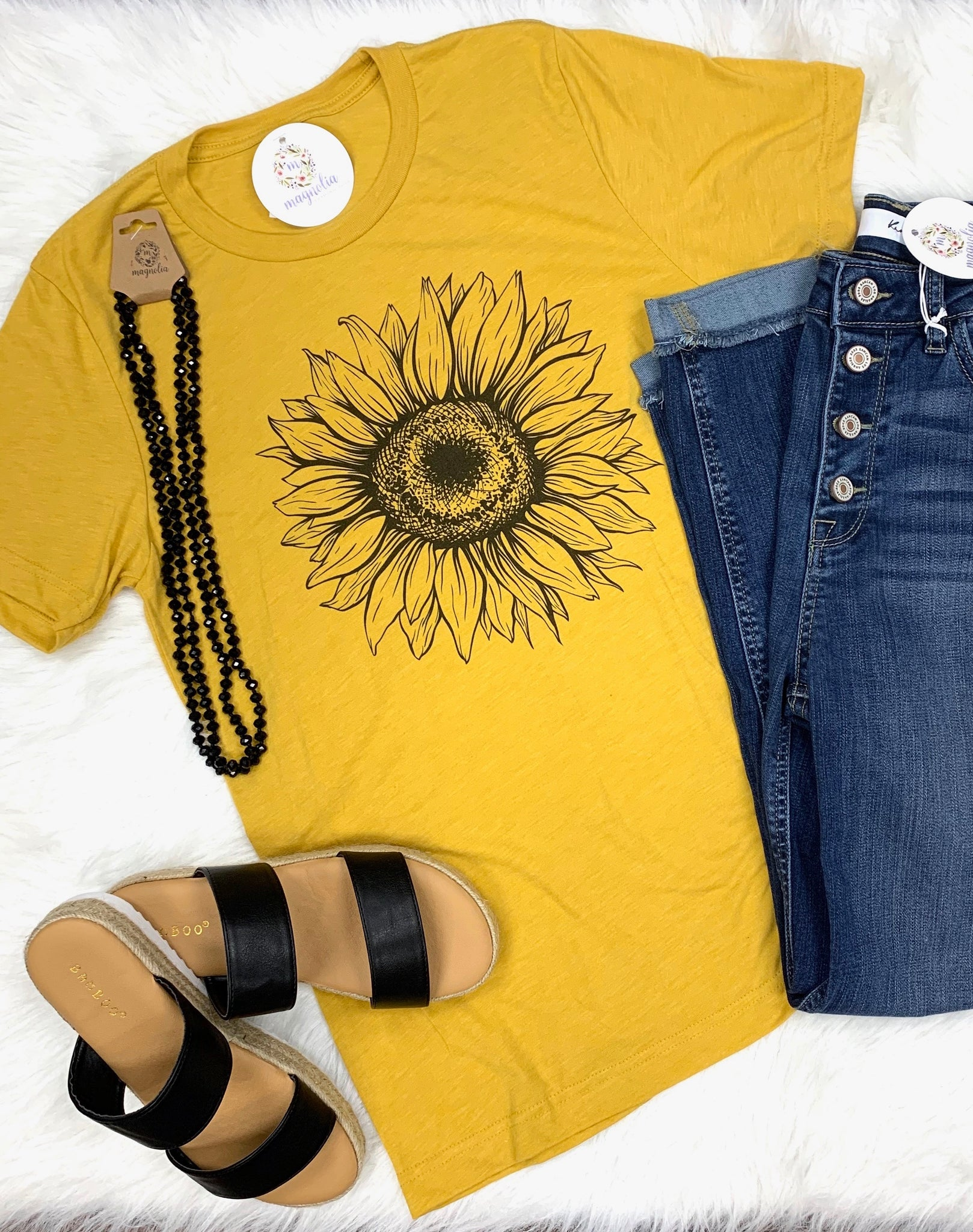 Sunflower Graphic Tee