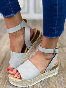 Topic Espadrille Light Grey
