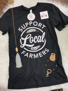 Support Local Farmers Short Sleeve Tee