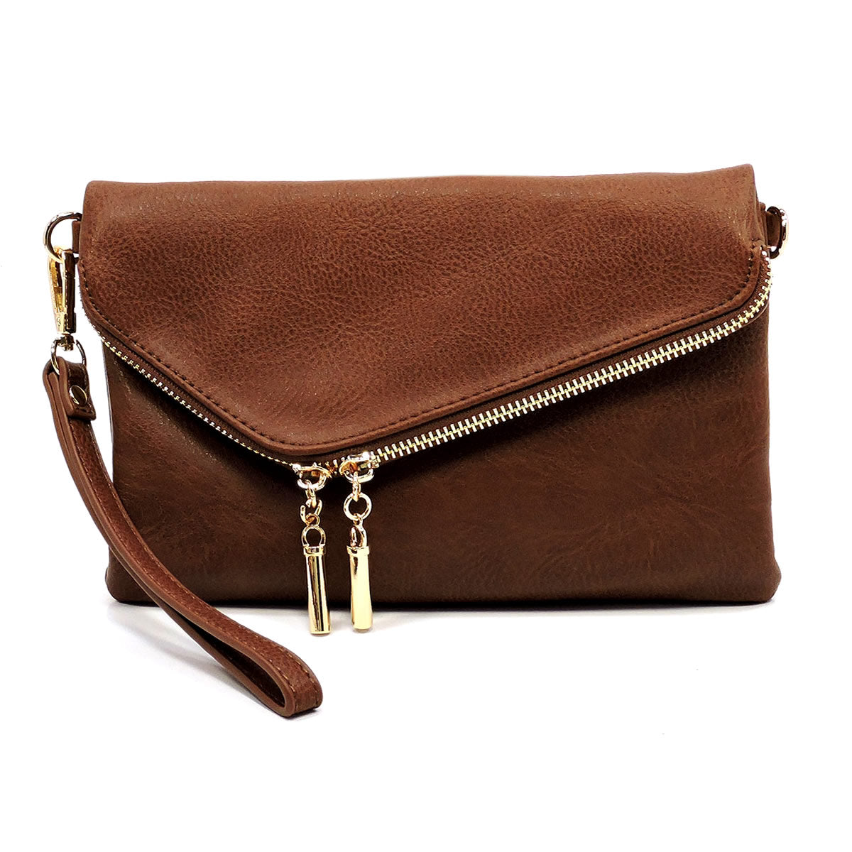 Coffee Envelope Crossbody Wristlet