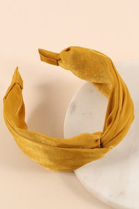 Mustard Twisted Headband