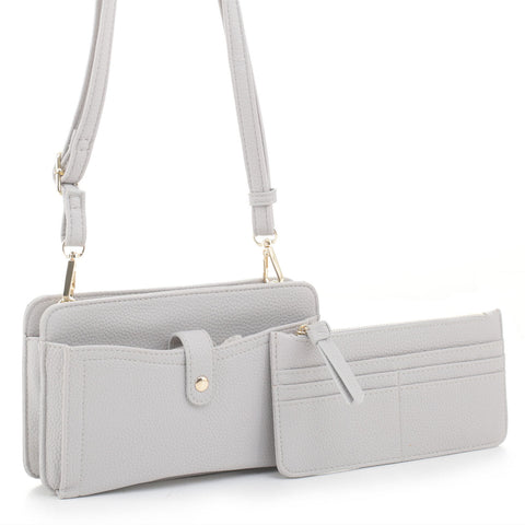 2-In-1 Crossbody Wallet Set