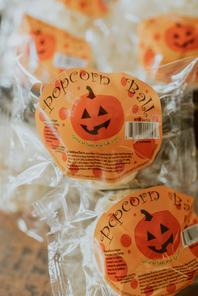 Original 2 oz. Pumpkin Halloween Balls