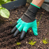 Garden Gloves With Claws