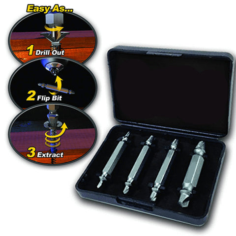 Damaged Screw Extractor 4PCS