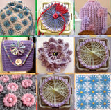 Flower Pattern Knitting Loom Set