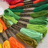 Cotton Embroidery Thread 50 colors