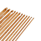 Bamboo Crochet Hook Set 12pcs