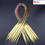 Circular Bamboo Knitting Needle Set 18pcs