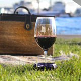 Outdoor Wine Glass Holder