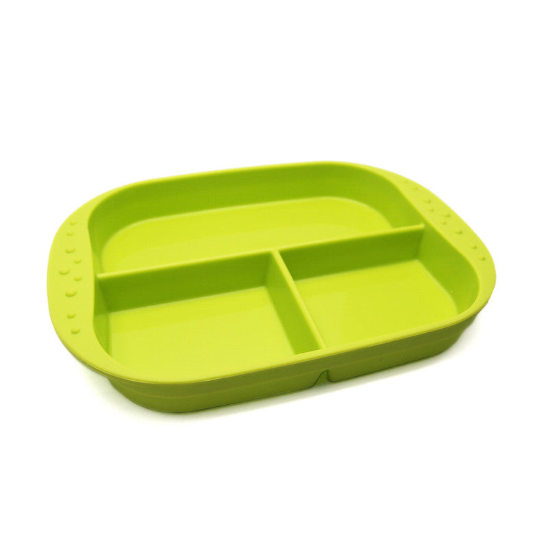 Divided Plate Green