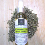 Natural Insect Repellent|Catnip Repellent That Works|DEET FREE Spray| 8 Essential Oils| Bug Off Herbal Mosquito Oil - Q2NATURALS