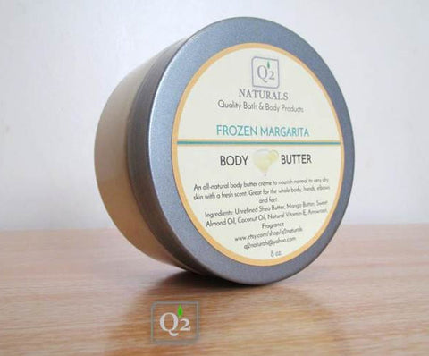 25% OFF! Frozen Margarita Whipped Body Butter | Natural Body Cream - Q2NATURALS