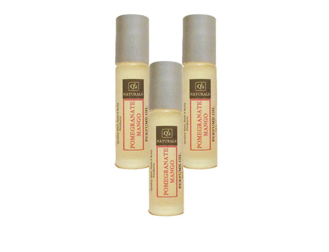 Pomegranate Mango|Natural Roll On Perfume Oil|Scented Body Oil - Q2NATURALS