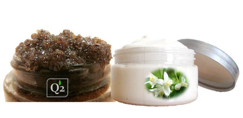25% OFF! Coffee Vanilla Body Care| Body Butter & Sugar Body Scrub|Handmade Gift Set - Q2NATURALS