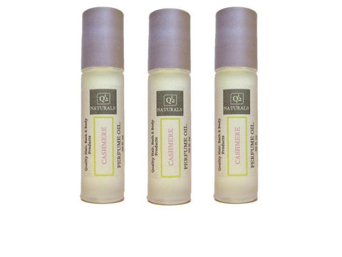 25% OFF! Cashmere Perfume Oil | Sensual Roll On Perfume - Q2NATURALS