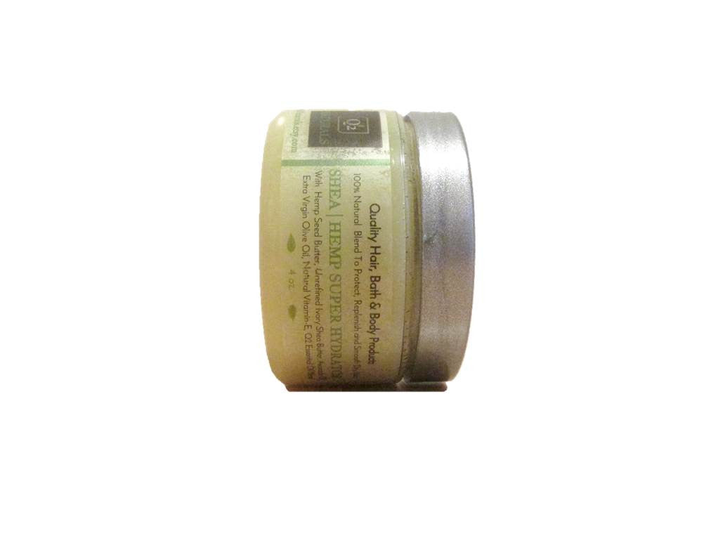 Body Butter With Organic Hemp Seed Oil and Butter