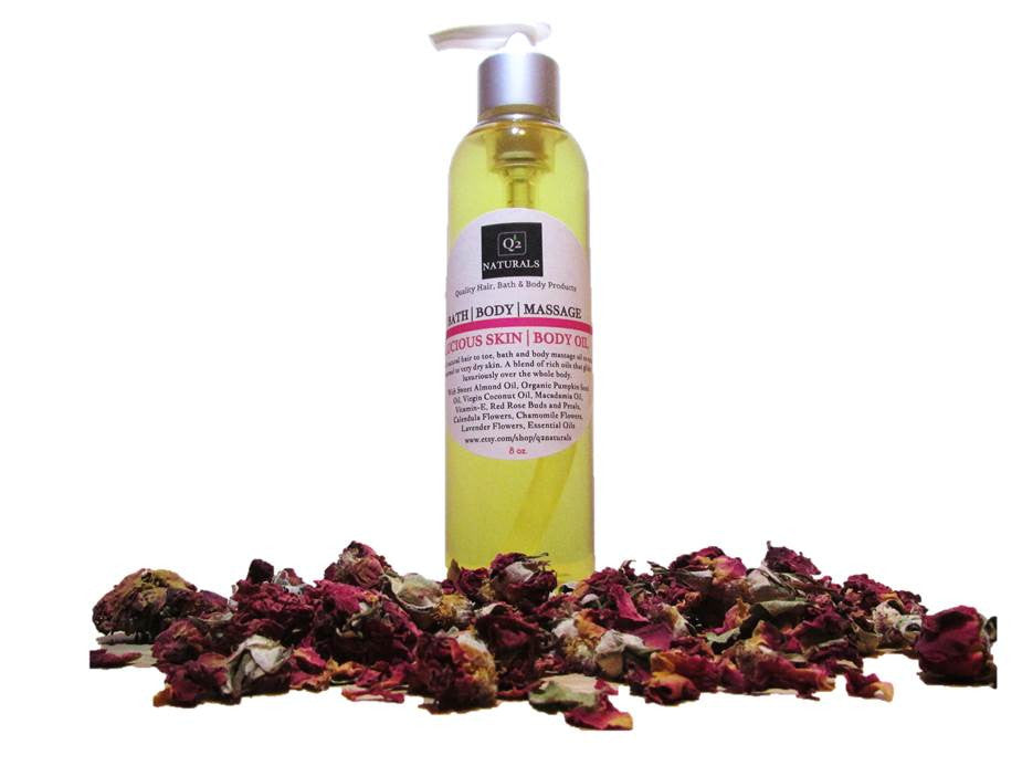 Luxurious Body and Massage Oil