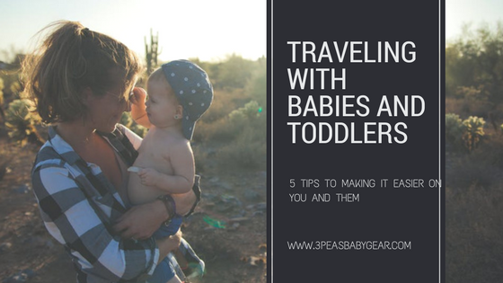 Five Tips to Making Babies and Toddlers More Comfortable When Traveling