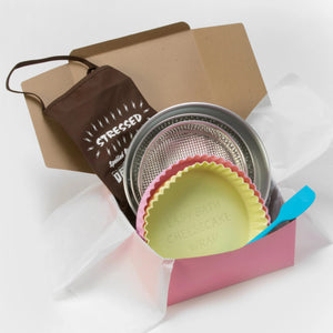 "GIFT BOX with 9"" & 10"" Wraps and Pans"