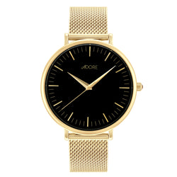 Shimmer 38mm Mesh Watch - Gold Plated / Swarovski® Crystal
