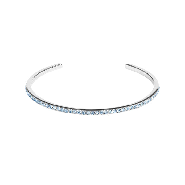 Adore Allure Light Sapphire Skinny Pavé Bangle Detail