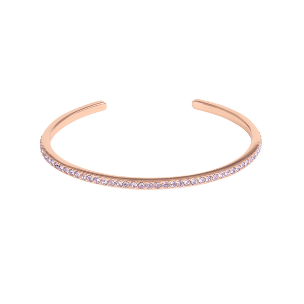 Adore Allure Violet Skinny Pavé Bangle Detail