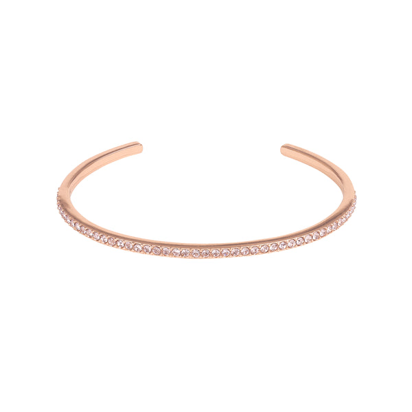Adore Allure Vintage Rose Skinny Pavé Bangle Detail