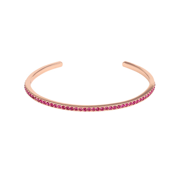 Adore Allure Ruby Skinny Pavé Bangle Detail