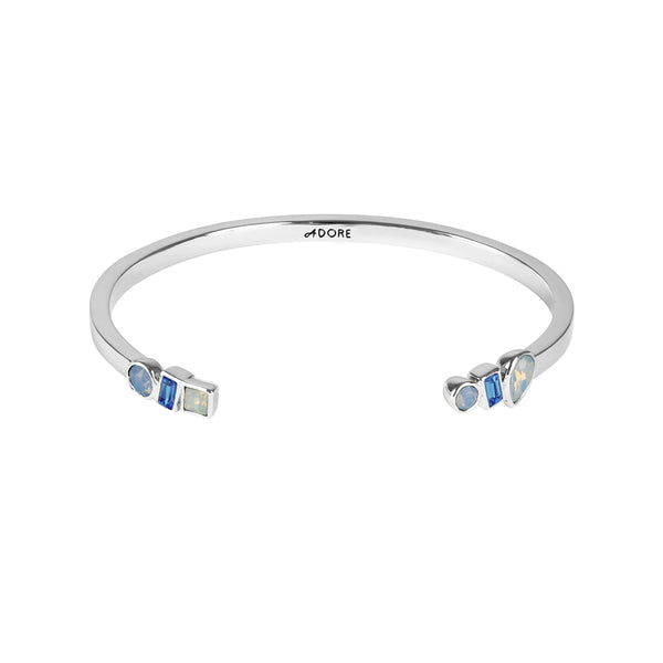 Adore Brilliance Mixed Crystal Cuff Detail
