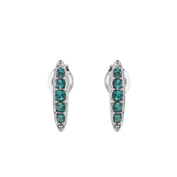 Adore Allure Montana Pavé Navette Stud Earrings Detail