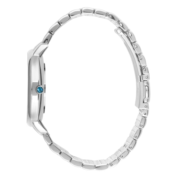 Luxe 33mm Rhodium Bracelet Detail Side View