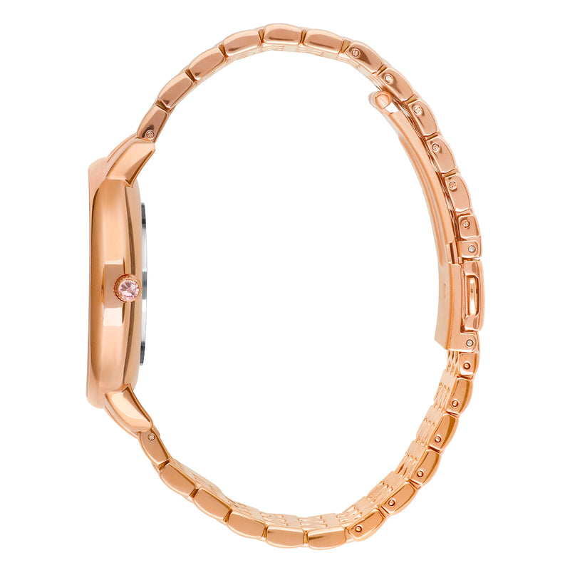 Adore Luxe 33mm Rose Gold Bracelet  Detail Side View