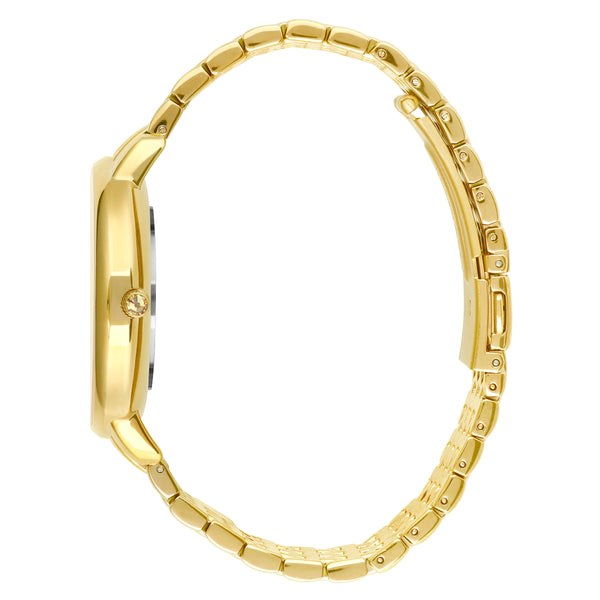 Adore Luxe 38mm Gold Bracelet Detail Side View