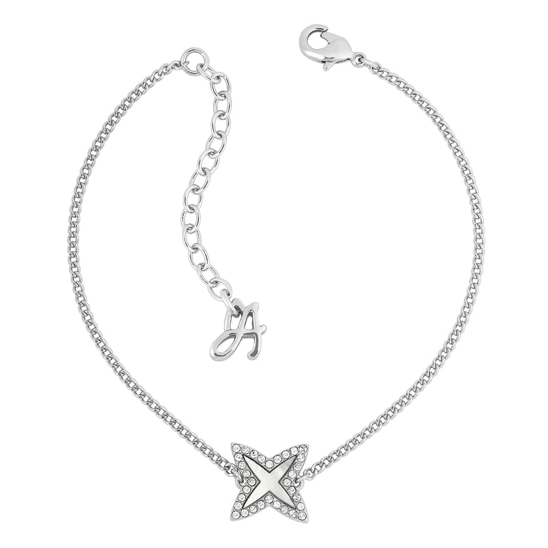 Adore Naturale Pavé Resin 4 Point Star Bracelet Detail