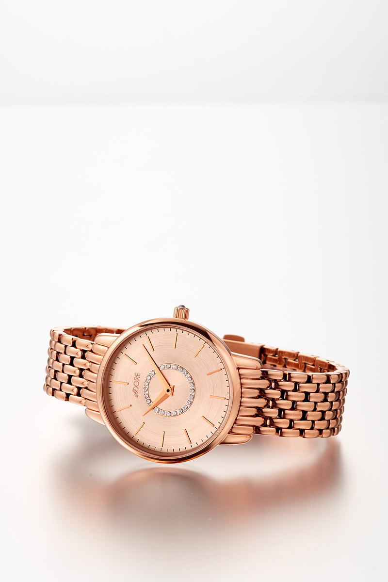 Adore Luxe 33mm Rose Gold Bracelet