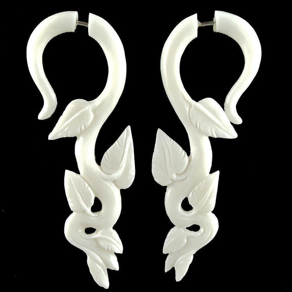 Fake Gauges | GARUDA OrganicEarrings.com