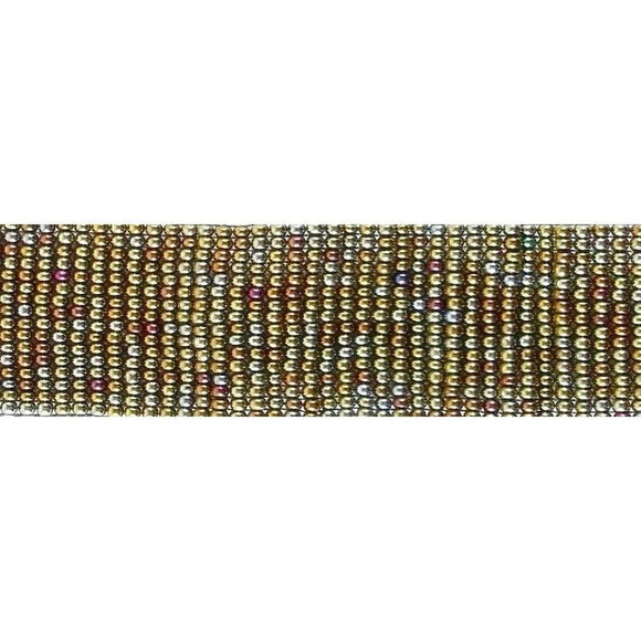 Sale and Clearance | Shimmering Olive. Beaded Bracelet.