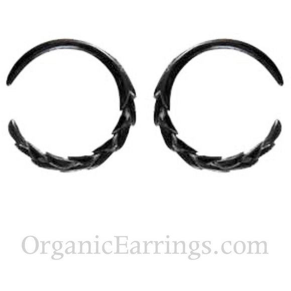 Gauges | Wheat. Horn 8g Organic Body Jewelry.