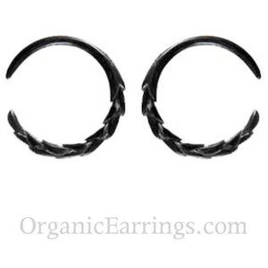 Body Jewelry | Water Buffalo Horn, size 8 gauges, $32