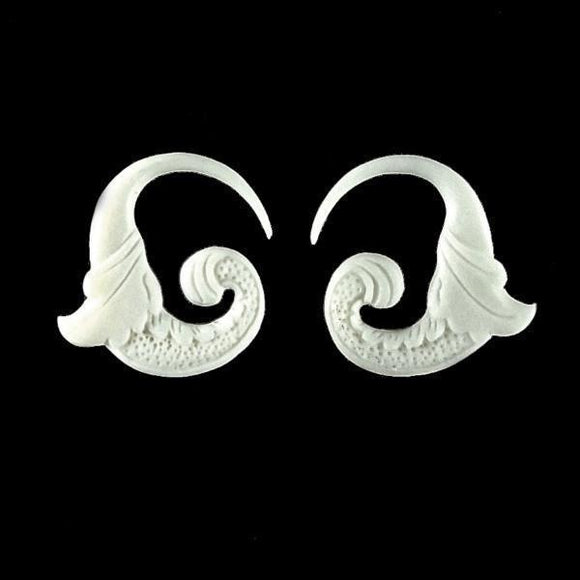12g Gauges | Nectar Bird. Bone 12g Organic Body Jewelry.
