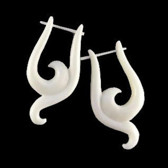 Bone Earrings | Dawn. Handmade Earrings, Bone.