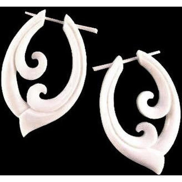 $30 to $50 Spiral Earrings | Pura Vida. Handmade Earrings, Bone Jewelry.