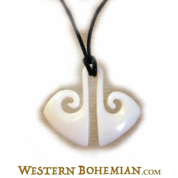 Natural Hawaiian Bone Jewelry | Tribal Life. Bone Necklace. Carved Jewelry.