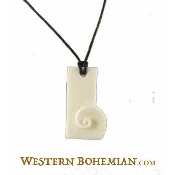 Sale and Clearance | Bone pendant. 17