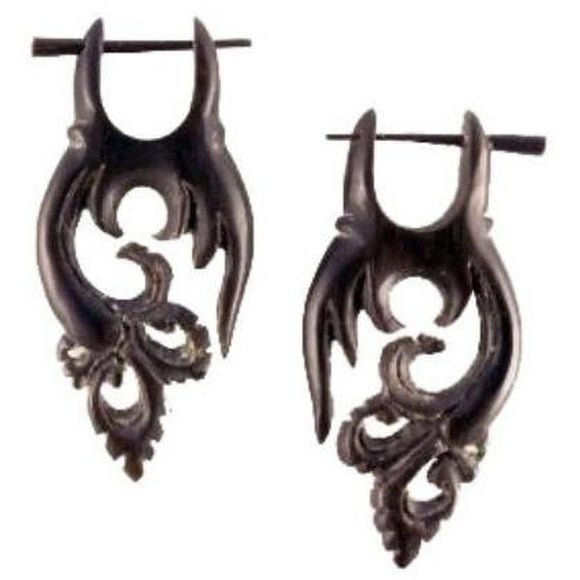 Horn Jewelry | Fairy Flutter. Handmade Earrings, Horn.