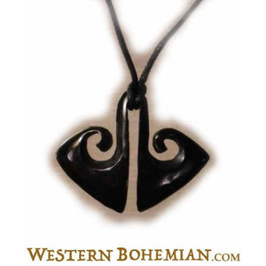 Horn Jewelry | Tribal Life. Horn Necklace. Carved Jewelry.